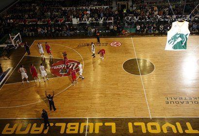 Tivoli je gostil številne evropske gigante, med drugim tudi moskovski CSKA.
