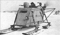 Razvoju motornih sani je menda botroval znameniti letalski konstruktor Igor Sikorsky