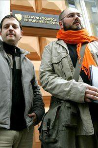 Mitja Blažič (na desni)