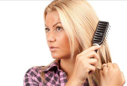Krtačenje in česanje las