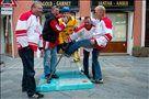 Danci so se znesli nad švedskim hokejistom