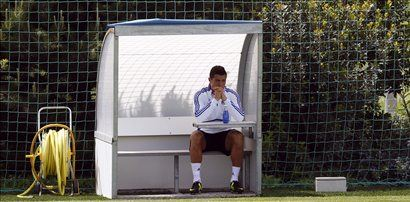 Takole zamišljen je bil na treningu Cristiano Ronaldo.