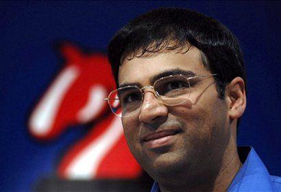 Svetovni prvak Viswanathan Anand.