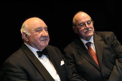 Letošnja nagrajenca Anton Nanut in Miroslav Košuta