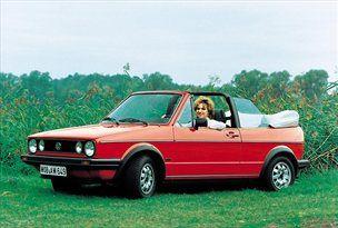 Golf kabriolet prve generacije