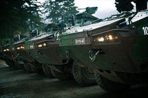 Patria OY AMV XC 400 APC - Slovenska vojska ima trenutno 30 oklepnih transporterjev SKOV 8x8
