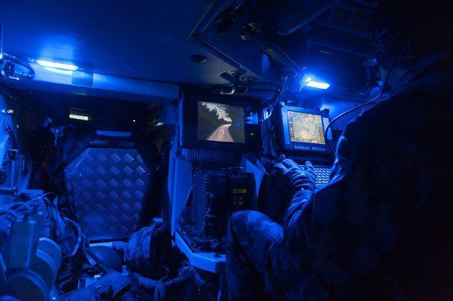 Kliknite na VIDEO in preverite, kaj je poveljnik vozila povedal o uporabnosti svaruna.
