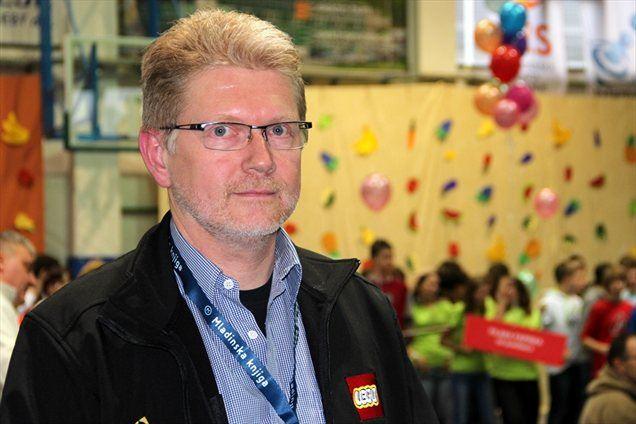 Gerhard Bjerrum-Andersen, projektni menedžer LEGO education z Danske