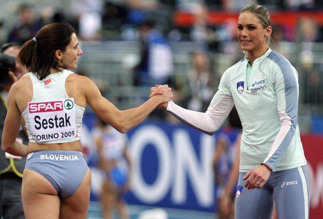 Najmočnejši orožji Slovenije v Carigradu naj bi bili Marija Šestak in Snežana Rodić.