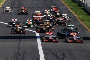 Štart prve od 20 dirk v 2012.