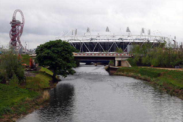Olimpijski stadion in v petek odprti Orbit.