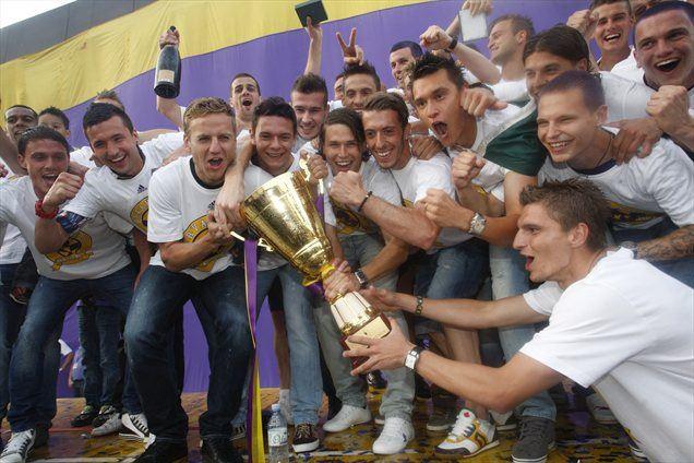 Maribor je naslov osvojil z 20 točkami prednosti pred Olimpijo, kar je nov rekord.
