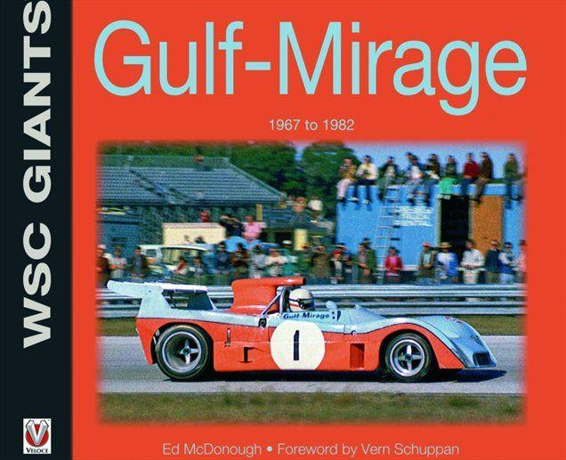 Knjiga obeležuje okroglo obletnico športne znamke Gulf-Mirage.