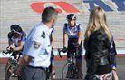 Policist obiskal naše tekmovalce (video)