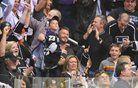 Tudi David Beckham je navijal za Kopitarja