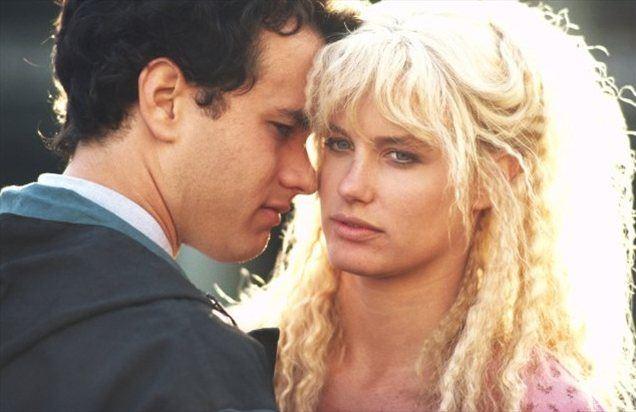 Z Daryl Hannah v filmu Morska deklica v New Yorku
