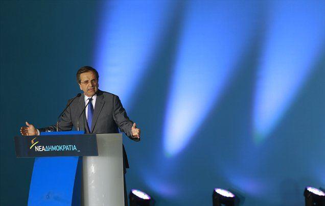 Antonis Samaras je dejal, da bi v primeru zmage na volitvah lahko oblikoval vlado s socialisti, ki imajo podobno stališče glede reševanja krize.