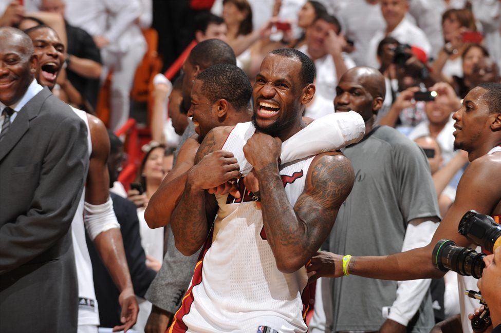 LeBron James je s šampionsko igro Miami ponesel do naslova prvaka. Zanj je to prvi prstan.