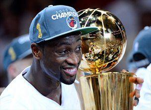 Wade je prvak lige NBA drugič.