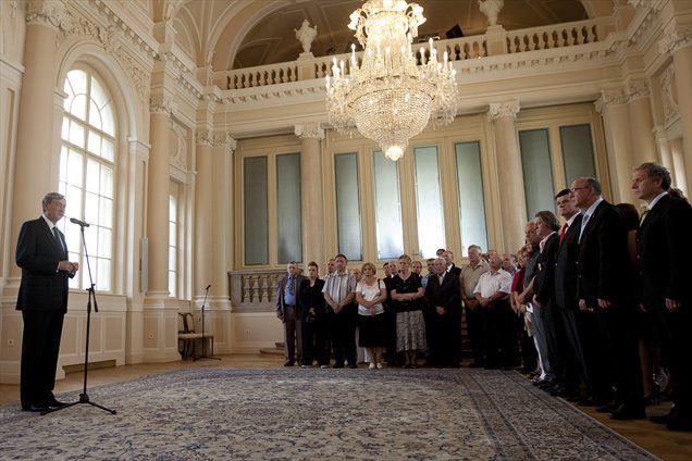 Naša pot do polne uveljavitve na mednarodni ravni je bila veliko lažja prav zato, ker so borci za neodvisno Slovenijo tako dobro opravili svojo zgodovinsko nalogo, je dejal predsednik Danilo Türk.