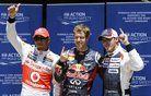 Vettel s prvega štartnega mesta v Valencii
