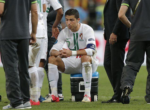 Cristiano Ronaldo je s soigralci zamudil veliko priložnost, da bi spet igral v finalu evropskega prvenstva.