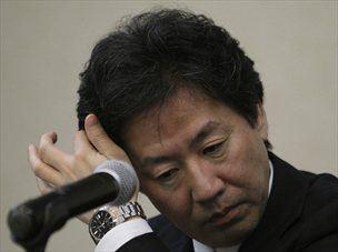 Japonski finančni minister Jun Azumi