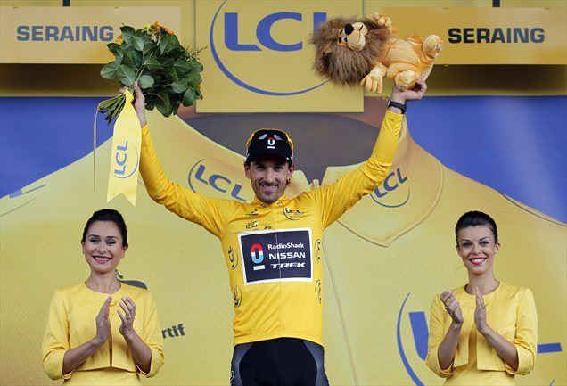 Rumeno majico vodilnega bo tudi jutri nosil Švicar.