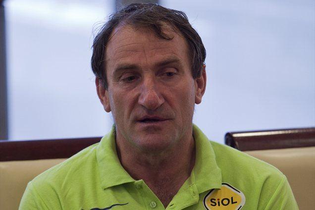 Dolgoletni trener Srečko Masle