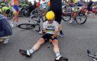 Greiplu šprint četrte etape, padec Cavendisha