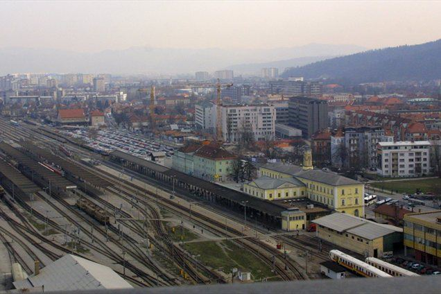 Železniška postaje Ljubljana