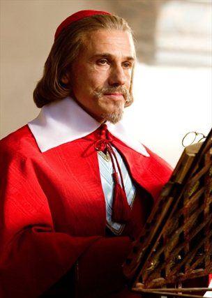 Kot Kardinal Richelieu v filmu Trije mušketirji