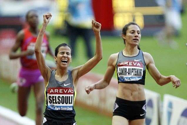 Mariem Alaoui Selsouli je v teku na 1500 metrov popravila maroški rekord.