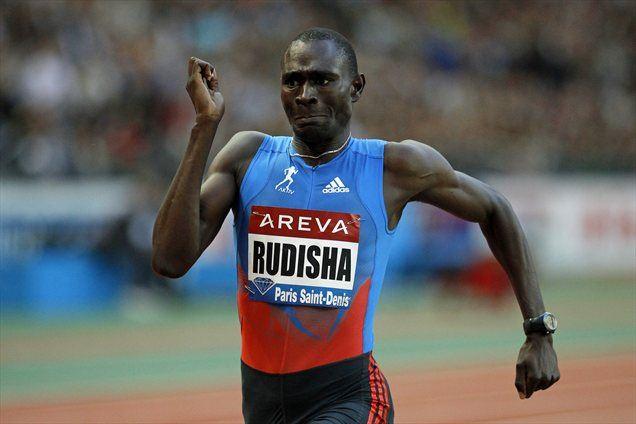 David Rudisha se je spet boril le z uro. Konkurenco je pustil štiri sekunde za seboj.
