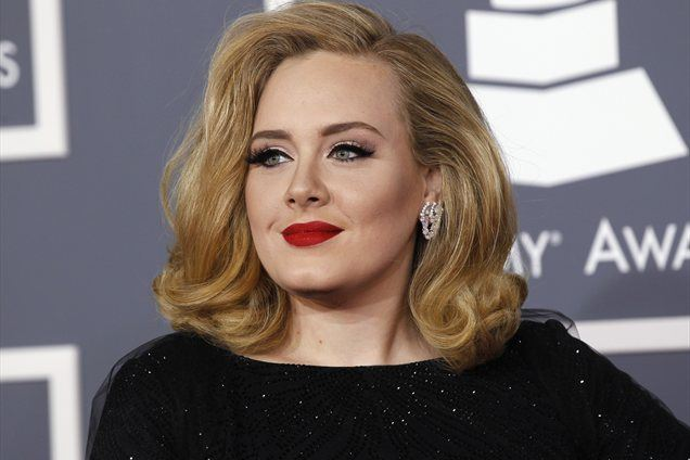 Adele in Mark Evans