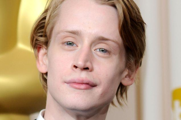 Macaulay in Kit Culkin