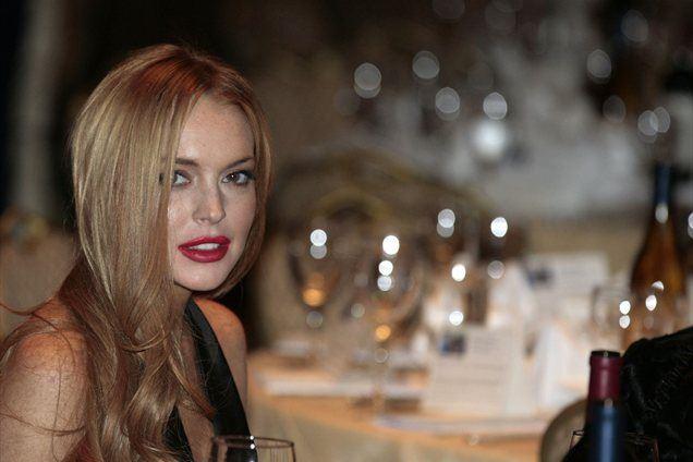 Lindsay in Michael Lohan