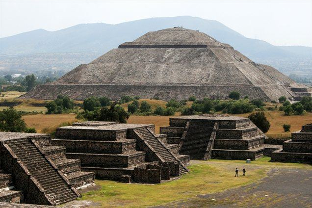 Sončeva piramida, tretja najvišja piramida na svetu