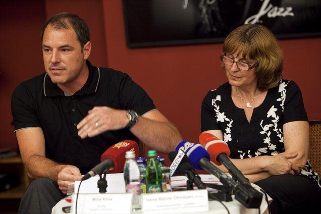 Miha Kline in Irena Rahne Otorepec