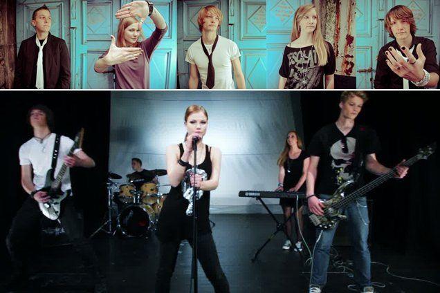 Skupina NeŠe predstavlja videospot skladbe Yesterday z albuma Iluzija.
