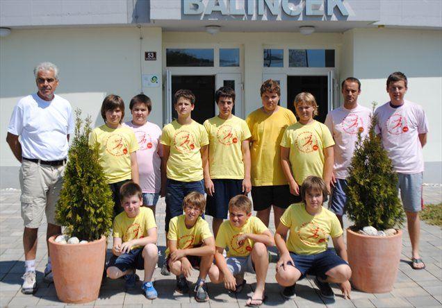 Udeleženci letošnje šole z vodstvom.