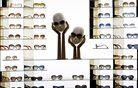 Sončna očala Louis Vuitton v največji trgovini blagovne znamke na Kitajskem. Foto: Reuters