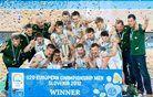 Slovenija sedma, naslov prvaka v Litvo