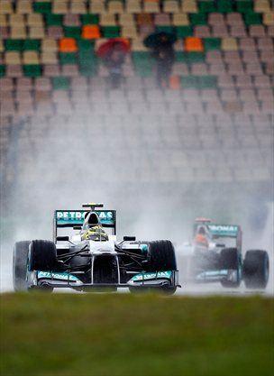 Mercedes je doma osvojil le sedem točk.