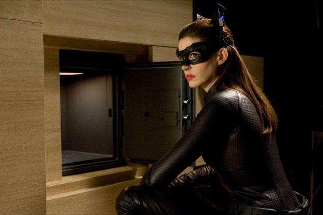 Anne v vlogi Catwoman.