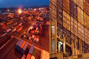 Kontejnerski transport prenesel tehnično revolucijo v pomorski transport