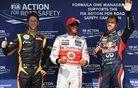 "Hamilton razred zase - 150. ""pole"" za McLaren"