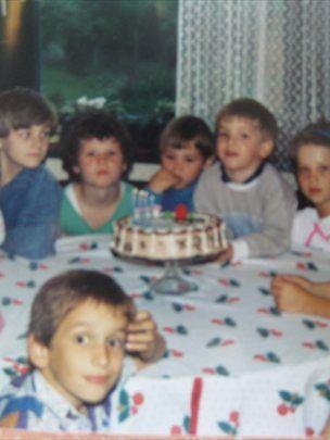 Rojstnodnevna zabava za Markov 4. rojstni dan.