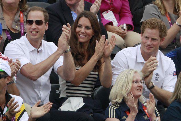 Tako so se kolajne njihove Zare veselili William, Kate in Harry.