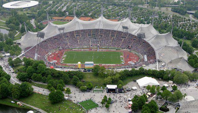 Olympiastadion v Münchnu